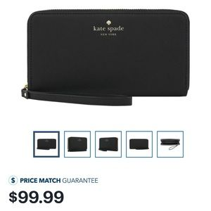 Kate spade cell phone wallet wristlet